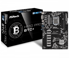 ASRock H110 Pro BTC+ Retail