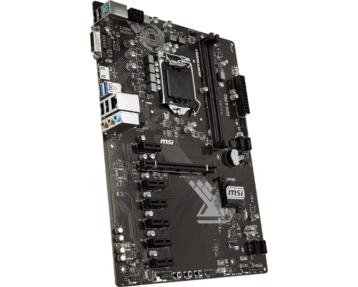 MSI H310-A Pro Top Front