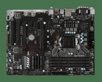 MSI Z170A PC Mate Top