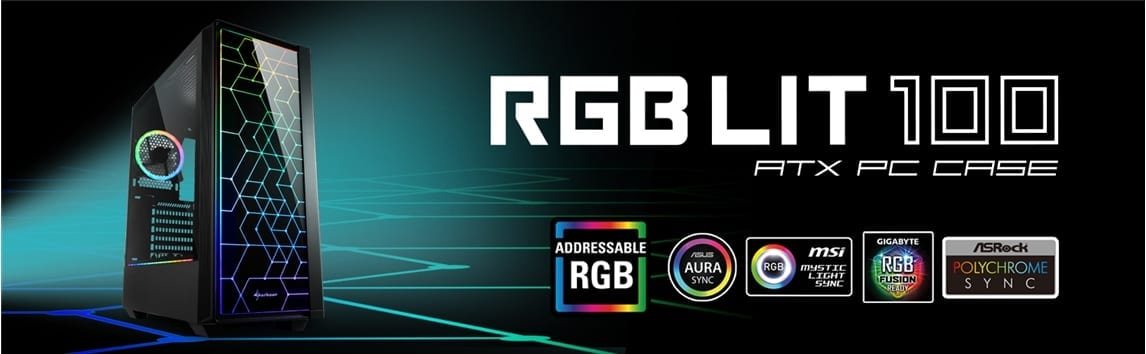 Sharkoon RGB LIT 100