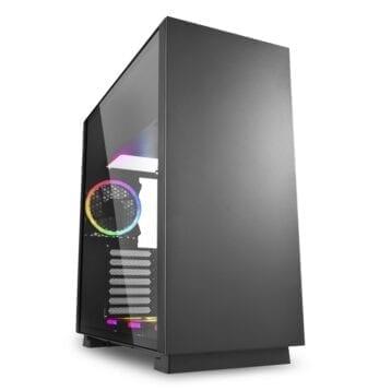 Sharkoon PureSteel Black RGB computer case
