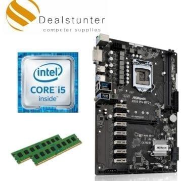 ASRock H110 PRO BTC + i5 6400 + 8gb DDR4