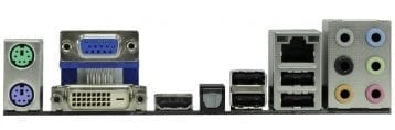 ASRock A780GXH-128M Backplate