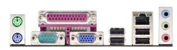 ASRock AD2550B-ITX Backplate