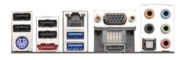 ASRock FM2A75M-ITX Backplate