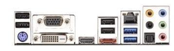 ASRock H77M-ITX Backplate