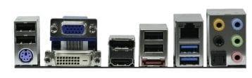 ASRock Z68 Pro3-M Backplate