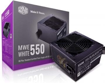 CoolerMaster MWE 550 White