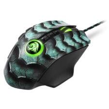 Sharkoon Drakonia II groene Gaming muis