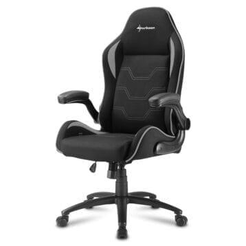 Sharkoon ELBRUS 1 Gaming Chair gamestoel Zwart/Grijs