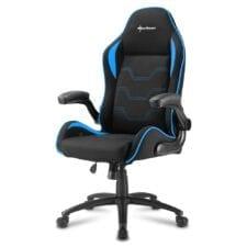 Sharkoon ELBRUS 1 Zwart - Blauw Game stoel