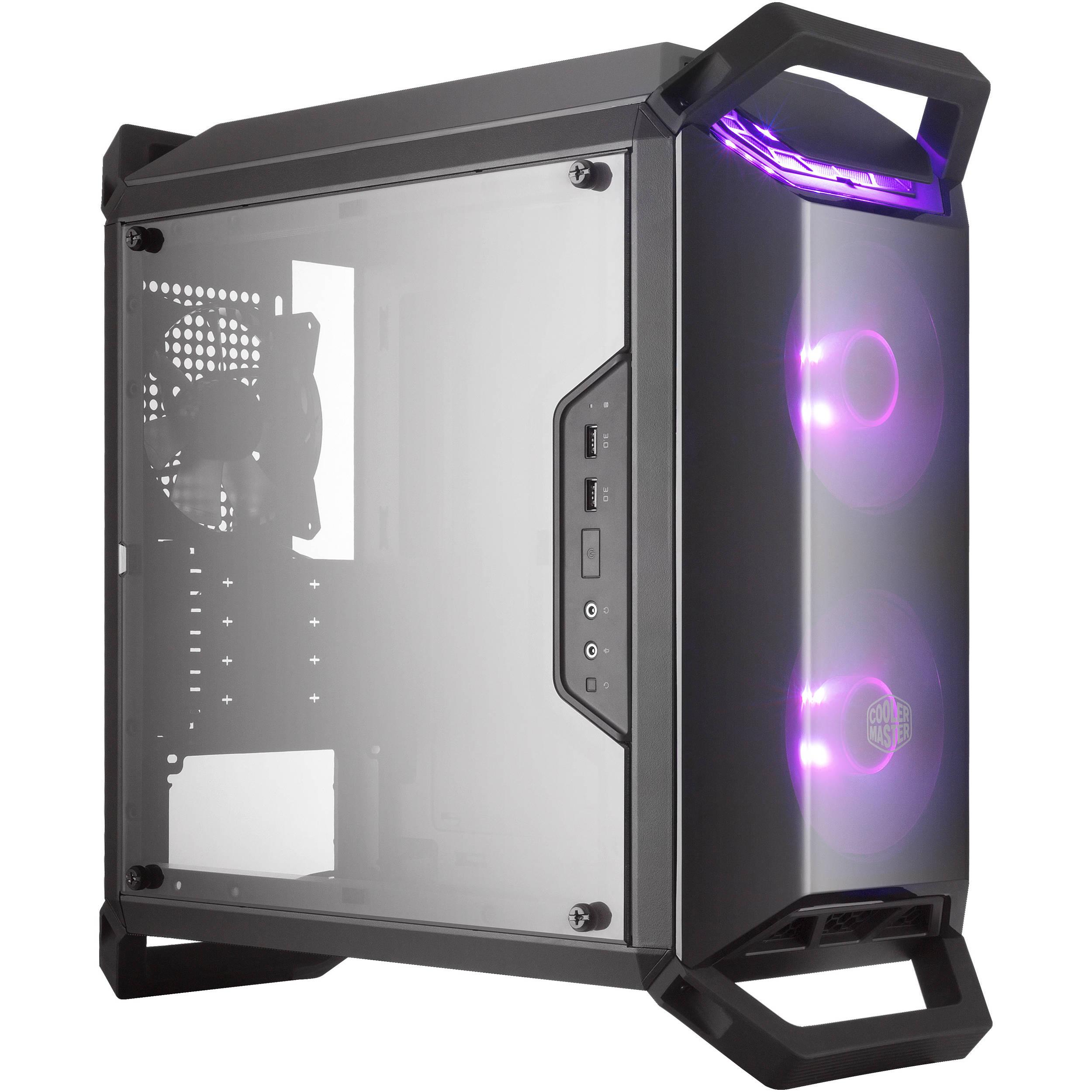 Cooler Master Q300P RGB Micro-ATX computer case