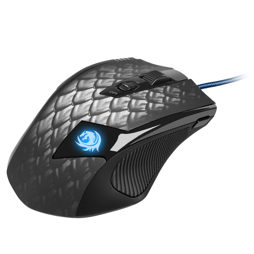 Sharkoon Drakonia Zwarte Gaming muis