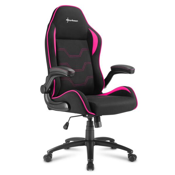 Sharkoon ELBRUS 1 Gamestoel (Zwart/Pink)