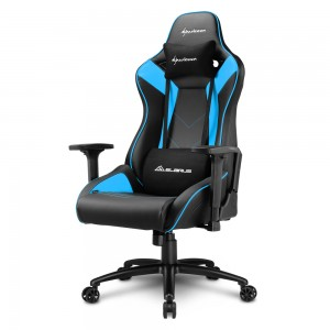 Sharkoon ELBRUS 3 Gamestoel (Zwart/Blue)