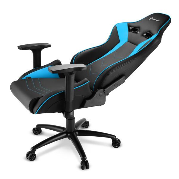Sharkoon ELBRUS 3 Gamestoel (Zwart/Blauw)