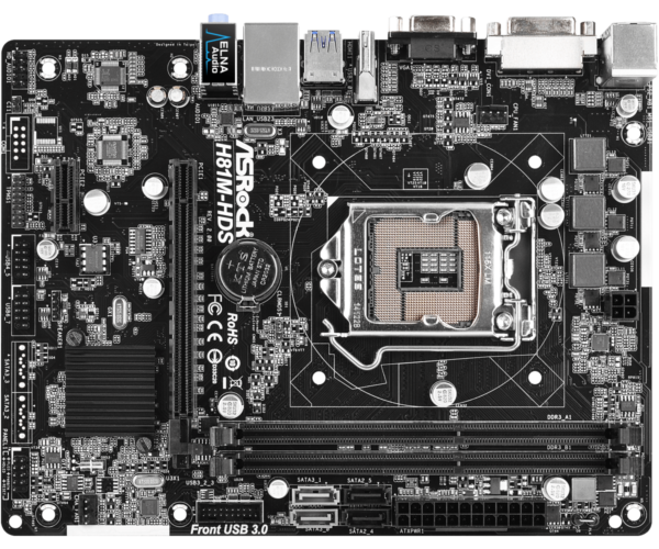 ASRock H81M-HDS R2.0 - Dealstunter.nl