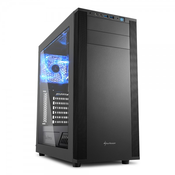 Sharkoon M25-W 7.1 computer case - Dealstunter.nl