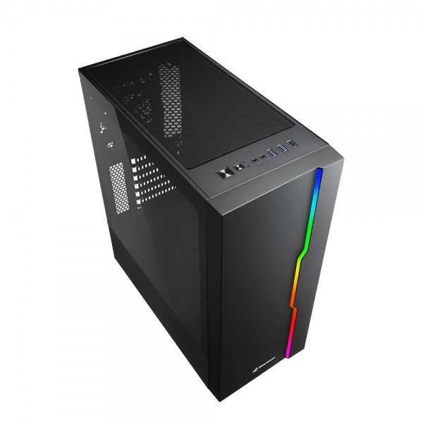 Sharkoon RGB Slider computer behuizing - Dealstunter.nl