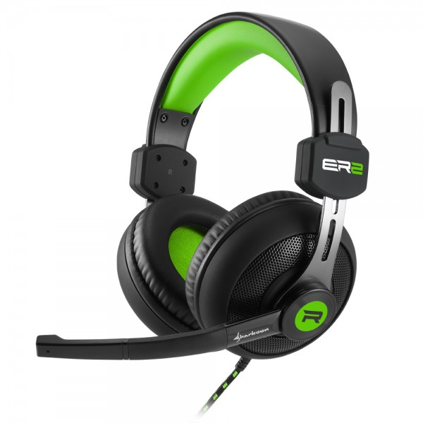 Sharkoon Rush ER2 Gaming Headset Groen