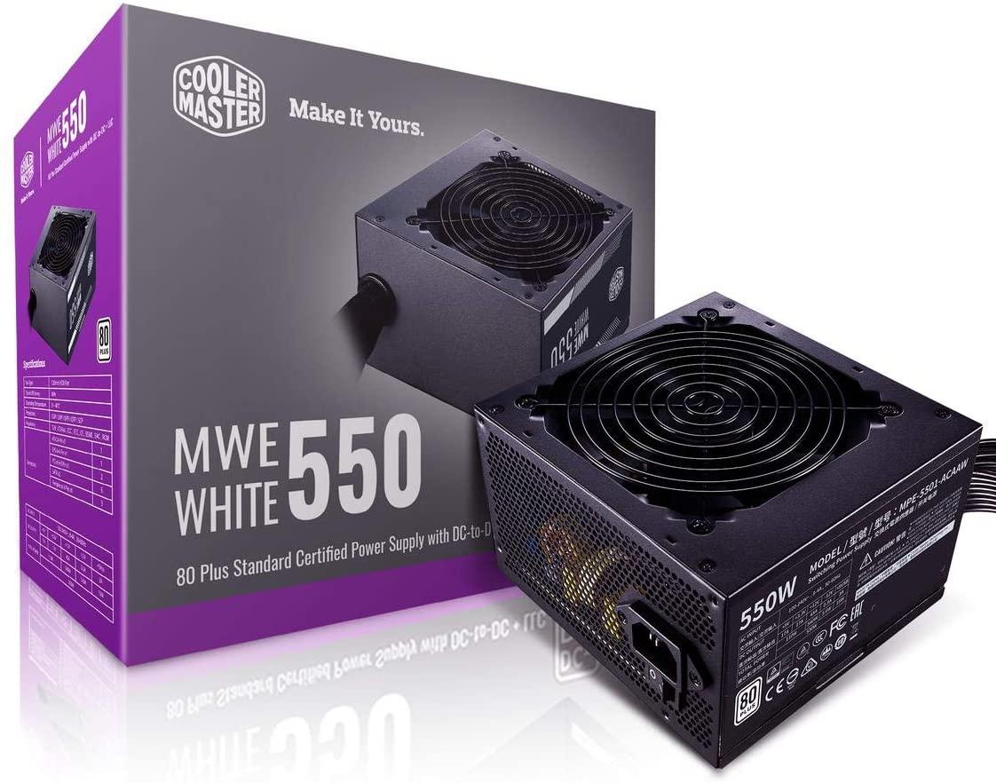 Cooler Master MWE550 White 230V – V2
