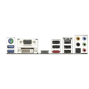 Asrock FM2A75 Pro4-M Backplate
