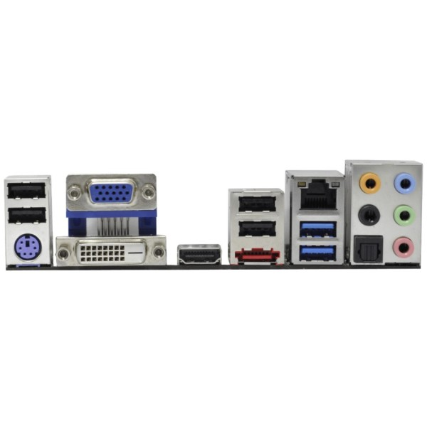 Asrock Z68M-ITX-HT Backplate