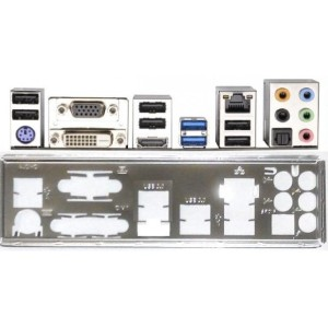 Backplate H77M - H77 Pro4-mvp - H77-M