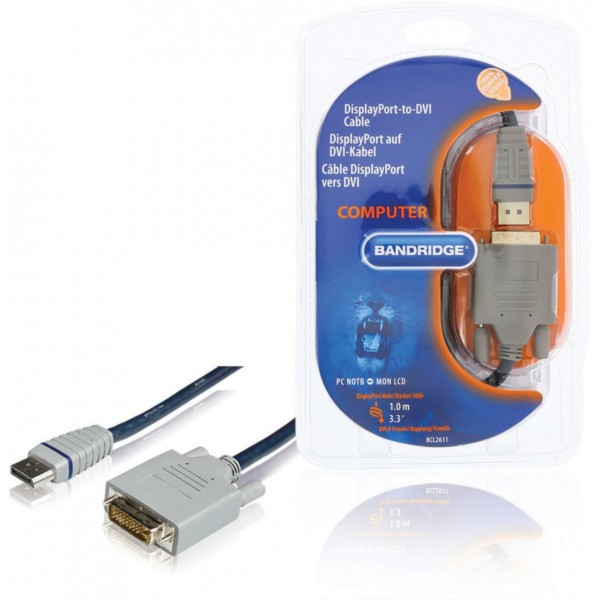 Bandridge BCL2611- Displayport to DVI-D