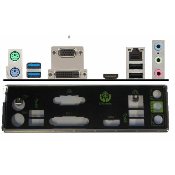 MSI H110M-ECO Backplate