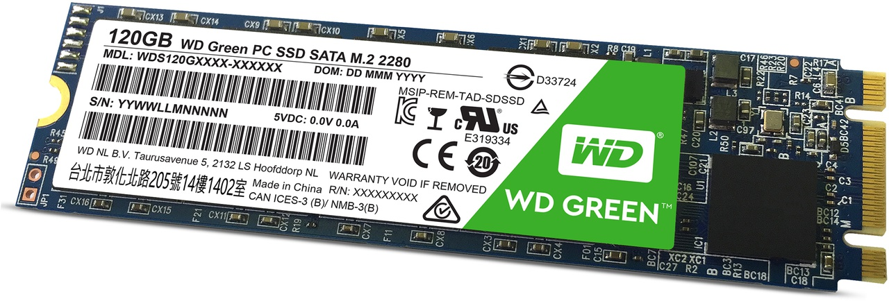 WD Green SSD M.2 V1 120GB