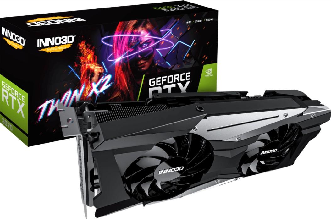 Inno3D GeForce RTX 3070 TWIN X2 OC 8GB